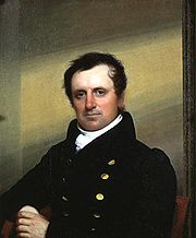 James Fenimore Cooper portrait by John Wesley Jarvis, 1822.