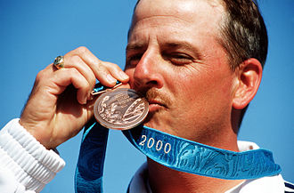 James Graves (sport shooter) - Graves at the 2000 Olympics