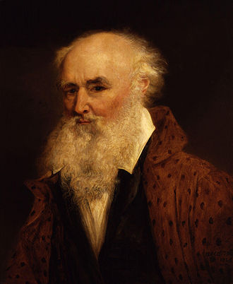 James Ward (artist) - Self-portrait by James Ward, 1848.