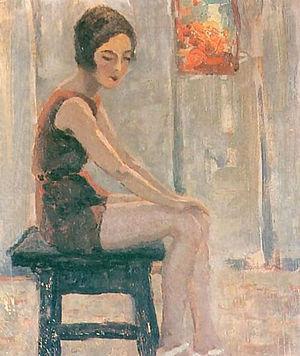 Jan Bohuszewicz - Image: Jan Bohuszewicz Sylvia s Red Suit