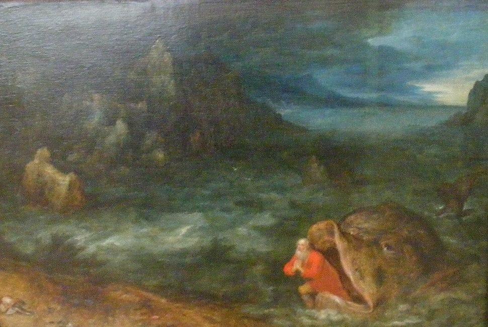 Jan Brueghel the Elder-Jonas entsteigt dem Rachen des Walfisches