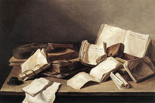 Jan Davidsz. de Heem - Still-Life of Books - WGA11266