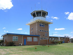 Jandakot Airport - Image: Jandokot Air Traffic Control Back 2006 SMC