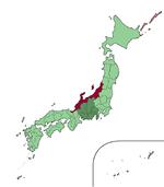 Japan chubu Hokuriku region map small.png