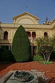 Cote Jardin Decoration Avec Muret E Escalier
