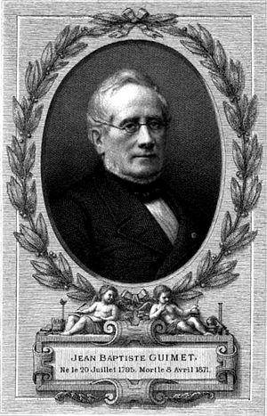 Jean-Baptiste Guimet - Image: Jean Baptiste Guimet