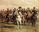 Jean-Louis-Ernest Meissonier - Napoleon and his Staff - WGA14739.jpg