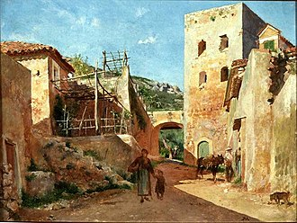 "Ernest Meissonier - In June 1868 Meissonier arrived in Antibes - ""It is delightful to sun oneself in the brilliant light of the South,"" he wrote"