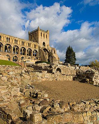 Jedburgh - Jedburgh Abbey
