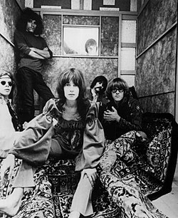 Skupina Jefferson Airplane v roku 1967