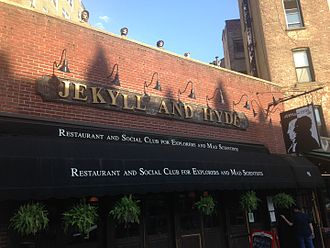 Theme restaurant - Jekyll and Hyde Club