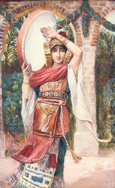 Jephthah's Daughter by James Tissot
