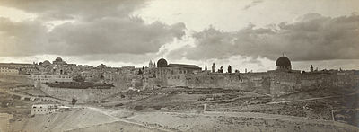 Jerusalem in the early 20th century