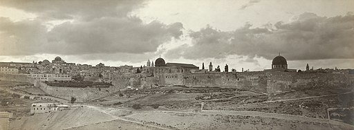 Jerusalem panorama early twentieth century2