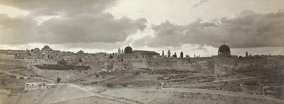 Jerusalem panorama early twentieth century2