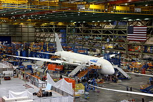 Future of Flight Aviation Center & Boeing Tour - Interior of the Boeing Everett Factory
