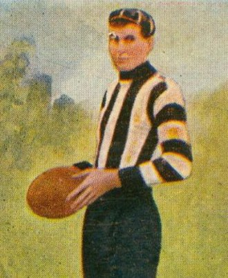 Jim Addison - Addison during his Collingwood career