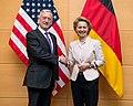 Jim Mattis with Ursula von der Leyen in Belgium - 2017 (38270598611).jpg