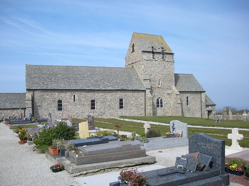 Eglise de Jobourg (Manche, Normandie, France)