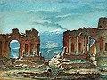 Johan Blackstadius, Taormina på Sicilien 1854.jpg