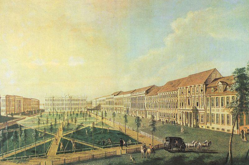 Файл: Иоганн Фридрих Майер - Потсдам, Wilhelmsplatz фон Süden.jpg