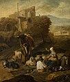 Johann Heinrich Roos - Pastoral Scene Against Ruins - MNK XII-A-864 - National Museum Kraków.jpg