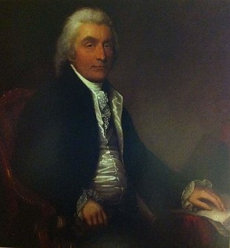 Sir John Wentworth, 1st Baronet - Wentworth by Robert Field, (Government House (Nova Scotia))