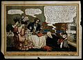 John Abernethy. Coloured etching by Cruikshank, 1828. Wellcome V0000017.jpg