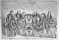 John Bull being examined by eight doctors representing Wellcome L0033930.jpg