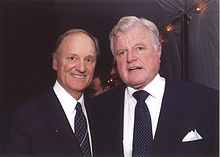 John J. Donovan with Senator Ted Kennedy