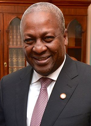 Ghanaian general election, 2012 - Image: John Dramani Mahama 2014 (cropped)