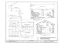 John Honam House, 1396 St. Charles Avenue (moved to Lakewood Park), Lakewood, Cuyahoga County, OH HABS OHIO,18-LAKWO,1- (sheet 2 of 2).png