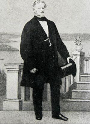 Strickland House, Vaucluse - John Hosking 1860
