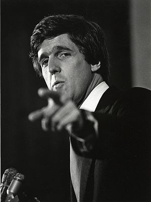 John Kerry - Kerry during his 1984 campaign