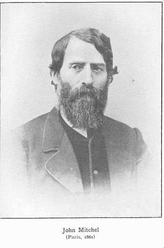 John Mitchel - John Mitchel, Paris, 1861