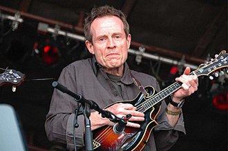 John Paul Jones (musician) - Jones playing mandolin in 2007