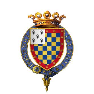 John IV, Duke of Brittany - Arms of John IV, Duke of Brittany, KG