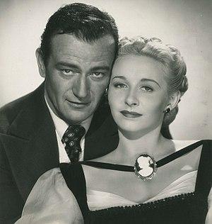 Dakota (film) - John Wayne and Vera Ralston in Dakota
