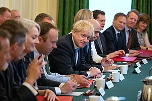 Johnson's 1st cabinet meeting.jpg
