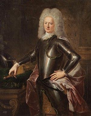 Jacob Heinrich von Flemming - Jakob Heinrich von Flemming  (artist unknown, 1720s)