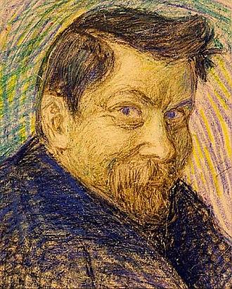 Jonas Heiska - Self-portrait  (date unknown)