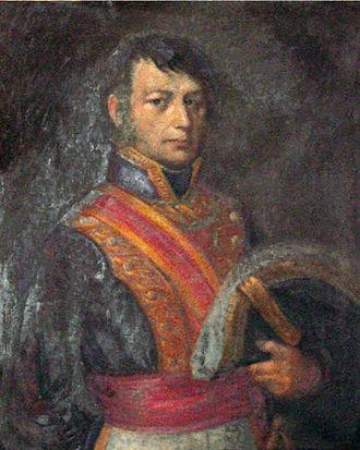 José Antonio Estudillo - Portrait of José Antonio Estudillo from about 1830