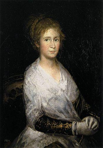 Josefa Bayeu Francisco De Goya y Lucientes