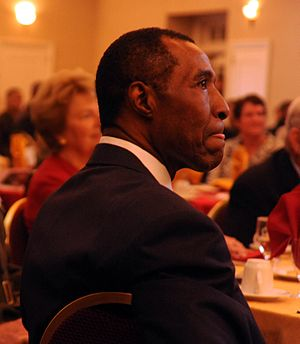 Jo Jo White - White during his Marine Corps Sports Hall of Fame induction ceremony, 2008.