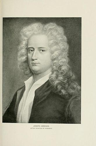 Joseph Addison - Joseph Addison by Kraemer