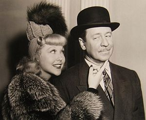 Bedtime Story (1941 film) - Joyce Compton and Robert Benchley in Bedtime Story