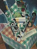 Juan Gris - Nature morte à la nappe à carreaux.jpg
