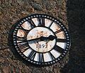 Jubilee Clock, Welland Church - geograph.org.uk - 702064.jpg