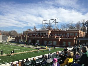 Jerry Richardson Stadium - Image: Judy Rose Center