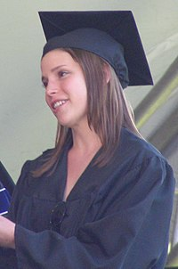 Julia Whelan Julia Whelan -- Middlebury Commencement Cropped.JPG